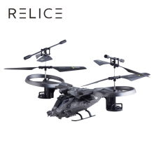 2017 RC Helicopter 3CH Double Blades 2 Main Blades Racing Remote Control Helicopter Model Electric RC Drone(China)