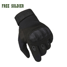 FREE SOLDIER outdoor sports men's full gloves for hiking climbing training, tactical gloves Cycling Gloves