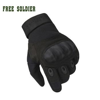 FREE SOLDIER, военные тактические перчатки, антипот, антискольжение. Для активного отдыха, с защитной оболочкой-броней.Локальная доставка