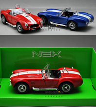 Welly Ford 1965 Shelby Cobra 427SC Classic car 1:24 Scale Car Model Alloy Toys Diecasts & Toy Vehicles Collection Gift