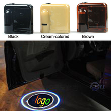 1 Pair for Mustang Wireless Led Car Logo emblem Door Projector Laser Light LED Welcome Ghost Shadow No Drilling Car Styling