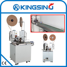 Full Automatic Wire Stripping Cutting Crimping  machine KS-T30 Series free shipping by DHL air express (door to door service)