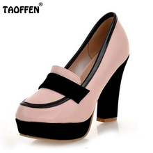 ladies high heel shoes women sexy dress footwear fashion lady female brand pumps P13025 hot sale EUR size 34-47
