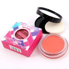 Maquiagem South Korea Excellence Blush for Perfect Corner of the Eyes Orange Color Leaves Blusher Shape Make you More lovely