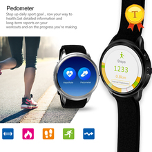 best selling 1.39 inch MTK6580 Andriod 5.1 WIFI GPS 3G Unlocked 8GB rom SmartWatch pedometer Mobile Phone Smart Watch wristwatch(China)