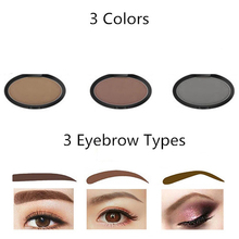 Fashion Eyebrow Powder Seal Eyebrow Shadow Set Waterproof Eyebrow Stamp Arched Shape Brow Stamp Powder Palette Delicated