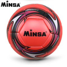 New Brand 2017 MINSA Official Standard Soccer Ball Size 5 Training Futebol Football Ball futbol Match Voetbal Bal(China)