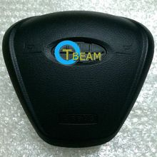 driver airbag cover for Fiesta send LOGO SRS steering wheel high quality air bags car parts