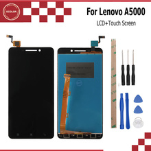 ocolor For Lenovo A5000 100%Tested LCD display and Touch Screen Assembly perfect repair part 5.0 inch For Lenovo A5000 +Tools(China)
