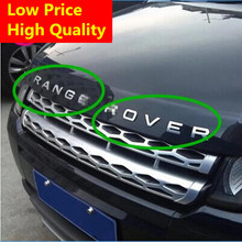 2016 Time-limited Real Car Styling Front Or Back Car Emblem Cover Sticker Letters Sports Style Case for Range Rover Accessories