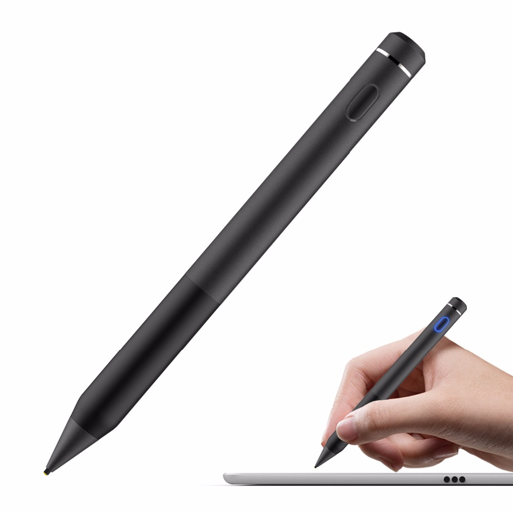 High Sensitivity Capacitive Touch Screen Pen Stylus for iPhone iPad iPod PC MS