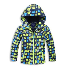 New 2017 Spring Autumn Children Outerwear Jackets Sport Fashion Kids Coats Double-deck Waterproof Windproof Boys Brand Jackets
