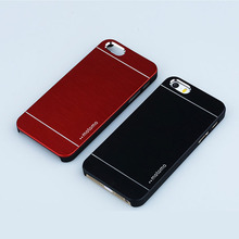 1PCS Top Fashion Luxury  Motomo Bling Metal Hard case for iPhone 4 4S Capa Back Plastic Cover Cell Phone Case Wholesales