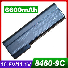 6600mAh laptop battery for HP HSTNN-LB2F HSTNN-LB2G HSTNN-LB2I HSTNN-UB2I HSTNN-W81C QK642AA 6360t Mobile Thin Client