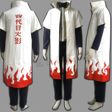 Cartoon Character Japanese Anime Naruto Yondaime Hokage Suit With Full Set
