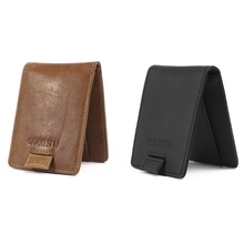 Buy RFID Wallet Blocking Men Business ID Credit Card Holder Coin Pocket for $6.32 in AliExpress store