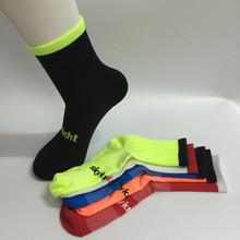 SKY KNIGHT High Elasticity Cycling Socks Outdoor Sports Wearproof Socks Deodorization Breathable Bicycle Socks(China)