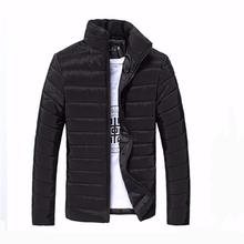 Mens Jackets And Coats Casual Jacket Men Clothes Cotton Denim Jacket Solid Zipper Coat Men Bomber Jacket Colete(China)