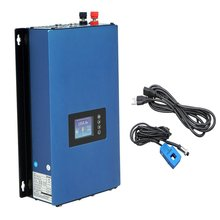 1000W Grid Tie inverter with limiter,MPPT pure sine wave DC22-60V/45-90V to 110V/ 230V AC with battery discharge mode(China)
