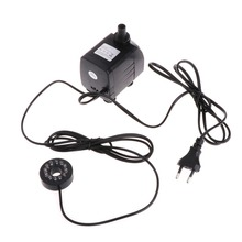 25W 960L/h Submersible Fountain Pool Water Pump 12 LED Light Fish Tank Aquarium Fountain Pond Pool Pumps Decoration(China)