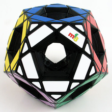 MF8 Hollow Megaminx Magic Cube 90mm Black mf8 Void Master Pentultimate(China)