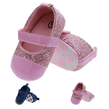 2017 Bling 0-1 Years Old Baby Shoes Manufacturers Wholesale Princess Toddler Shoes Sale