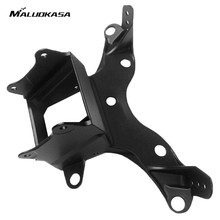 MALUOKASA Motorbike Upper Front Fairing Cowl Stay Headlight Bracket For Yamaha YZF R6 2006 2007 Yamaha YZF R6S 2006 Light Holder