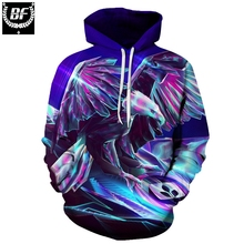 BF The hawk hoodie way 3D jerseys marke Kapuzenpulli Mannliche Trainingsanzuge unisex 6 xl Qualitat coat jacket Jungen mode(China)