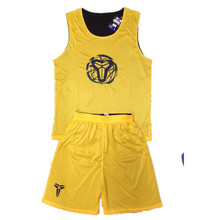 New Adult Men Reversible Basketball Jersey Sets Uniforms kits Sports clothes Double-sided basketball jerseys suits Customized