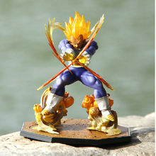 2017 sell like hot cakes 16cm Dragonball Super saiyan 2 Fighting form Vegeta Action figure Model furnishing articles Ornament