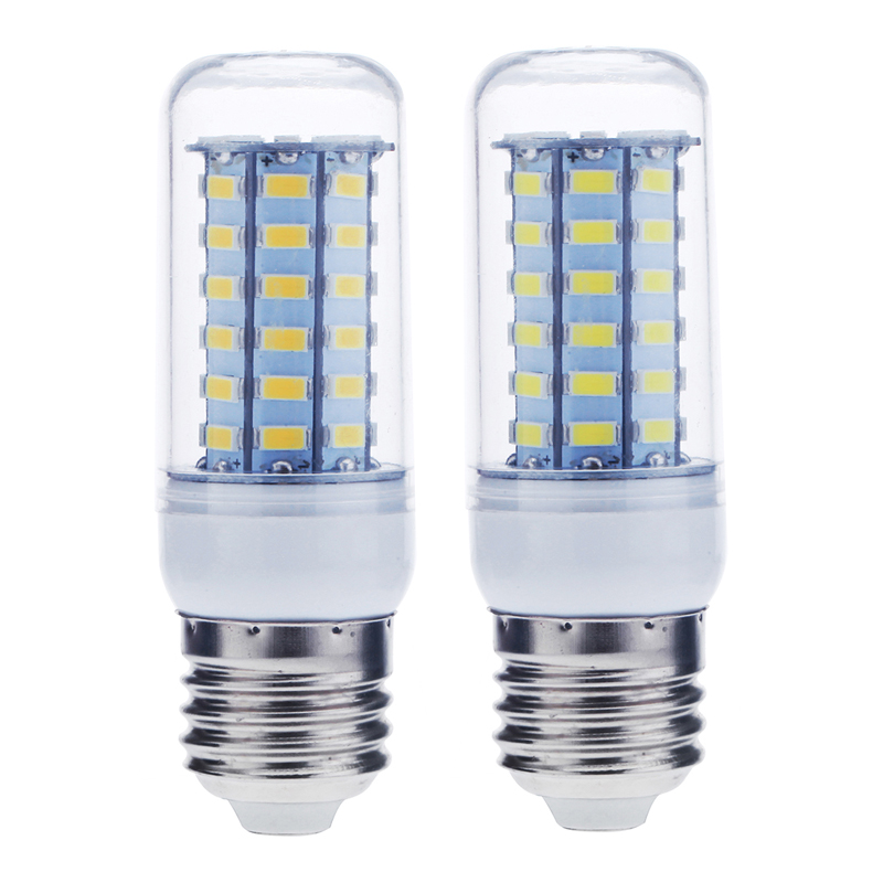 E27 Led Bulb12W 56 LEDS 5730 Chip SMD Corn Light Bulb Lamp 220-240V Warm/Pure Light Bulbs N27