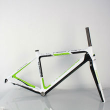 Buy Outdoor Cycling Carbon Road Frame Model:KQ-RB106R 700C Logos Finish fork included factory outlets for $528.00 in AliExpress store
