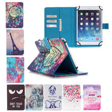 PU Leather tablet case stand cover For Ainol Novo7 rainbow/ Note 7 flame/Navo7 venus 7.0 inch Universal bags+Screen Protector