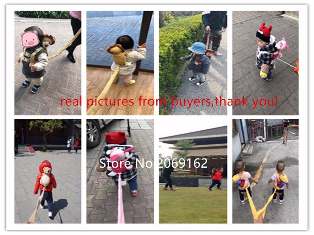 Color : Multicolored, Size : 114cm BBGSFDC Kinder verlorenes Anti Seil Reisen Sicherheit Anti-Verlorene Wrist Sicherheit Band Kleinkind Rucksack mit Reins for Baby-Sicherheits-Laufband