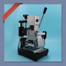 Hot stamping machine for stamping id/pvc card