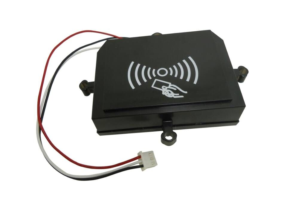 pulse signal card reader for IC card payment system<br>