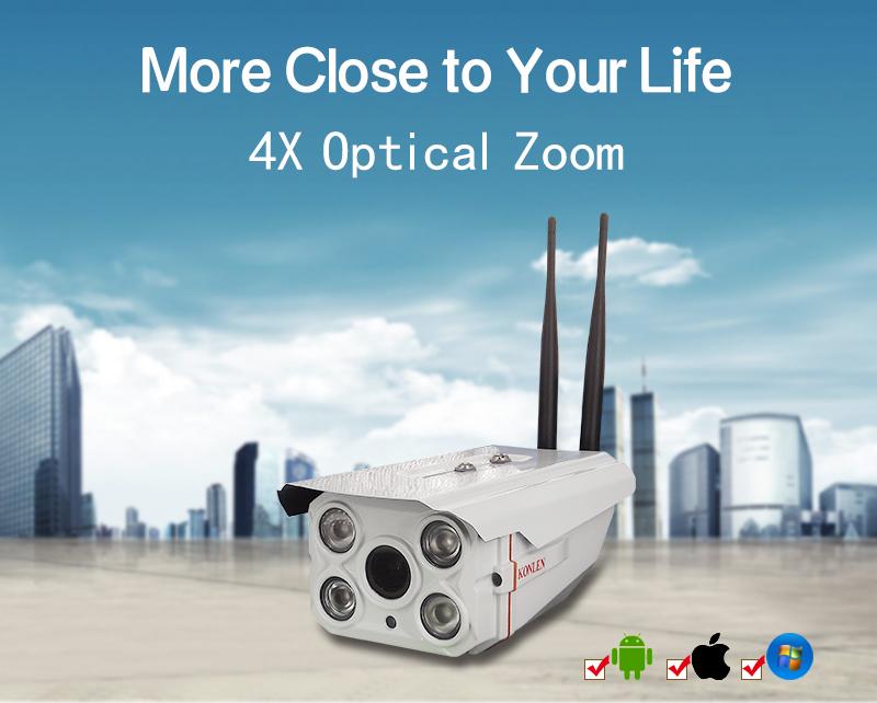 Outdoor Waterproof IP camera Zoom 01