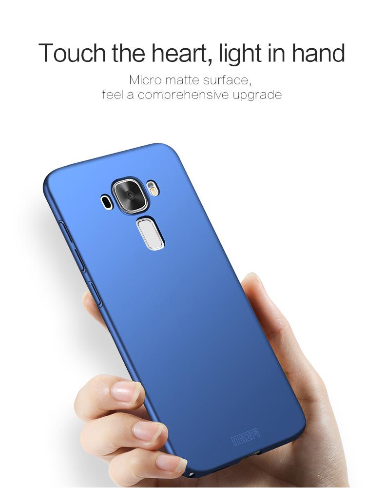 "Asus Zenfone 3 ZE552KL Case Hard Back Luxury Full Cover PC Plastic Mofi Original Phone Case For Asus Zenfone 3 ZE552KL 5.5"" 4"