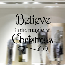 Wall Sticker New Pattern Christmas Series Living Room Bedroom Display Window Decoration