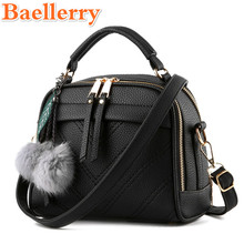 Baellerry New Fashion High Quality Women Shoulder Bags Elegant Ladies Large Capacity Messenger Handbags Evening Totes 9 Colors(China)