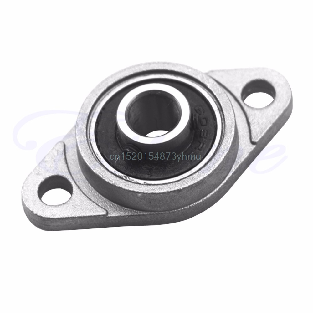 2pcs KFL08 8mm Mounted Block Cast Housing Self-aligning Pillow Bearing new hot