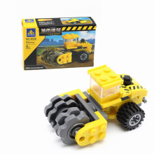 KAZI City Stir Scattered Car Building Blocks set Construction Engineering Educational Model Bricks Toys For kids Birthday Gifts
