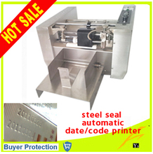 free shipping steel seal automatic expiry date codes printing machine auto plastic bag paper carton paper box case code printer