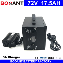 BOOANT E-Bike Battery 72V 17.5AH for Bafang 1500W Motor Electric Bicycle Battery 72V With a Metal Box +5A Charger free Shipping(China)