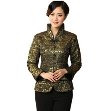 Hot New Purple Women's Velvet Coat Chinese Style Hanfu Top Long-Sleeve Tang Suit Slim Jacket Size S M L XL XXL XXXL