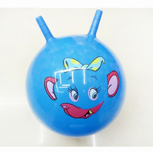 25CM Bouncing Ball toys Inflatable Cartoon Jumping Bounce stress ball Kids Health Care toy PVC Balance Balls for Christmas party