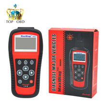 2017 Free shipping MD801 top-rated Autel MD801 Pro 4 in 1 code scanner(JP701+EU702+US703+FR704) MaxiDiag MD 801 Code Reader