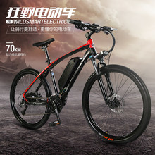 "27 Speeds, 26"", 48V/10A, 240W, Aluminum Alloy Frame, Suspension Fork, Disc Brake, Electric Bicycle, E Bike, Mountain Bike.(China)"
