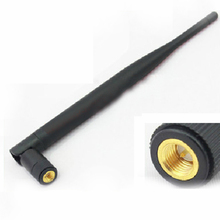 2.4Ghz 6dbi high gain Wifi Antenna SMA Male Omni-Directional SMA connector 2.4G antenna 196mm