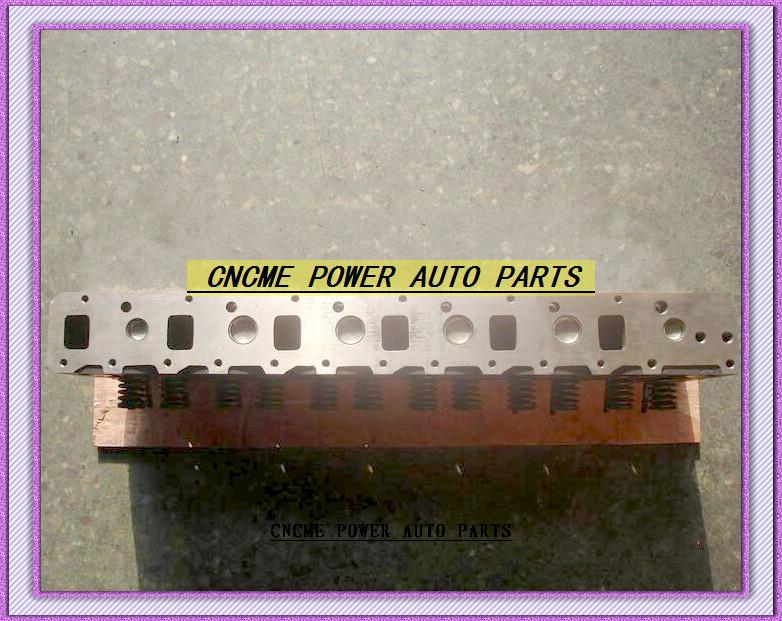 6BD1 6BG1 Cylinder Head For Isuzu FSR FST FTS FVR Forward Journey JBR JCM JCR JCZ ECR 5.8L D 12v 1976-81 1981-83 1-11110-601-1 (2)